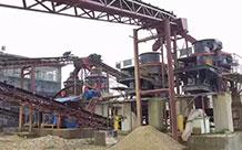 玄武岩破碎制砂生产线